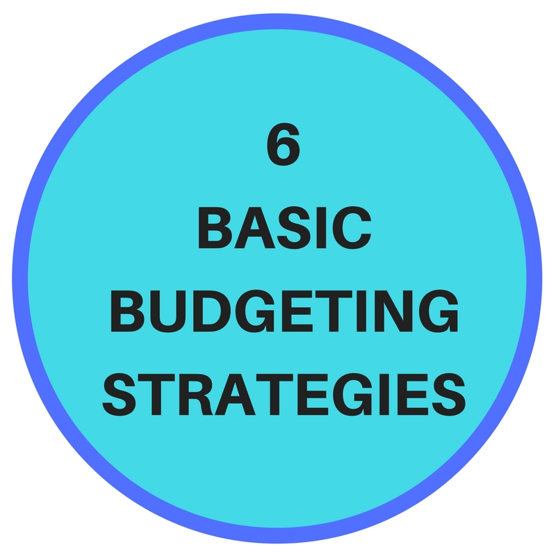 andre nel financial services 6 basic budgeting strategies